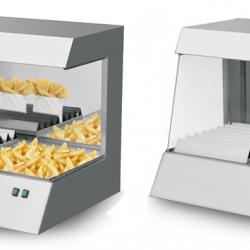 Подгревател - витрина за пържени картофи