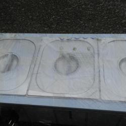 Професионална Топла витрина водна електрическа Бенмари 3  -  ка