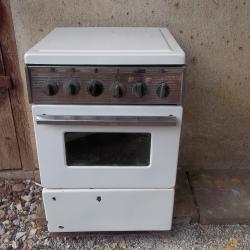 Ретро готварска емайлирана печка
