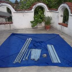 Сгъваема градинска шатра тента тип хармоника 3 3м за резервни части
