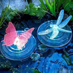 Соларни лампи за езера или басейни