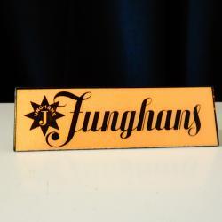 Швейцарска табелка, лого Junghans.