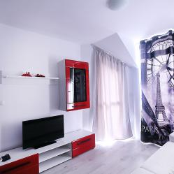 Делуксапартамент 2спални в нов комплекс Минисмарт Рейнбоугарденджакузи