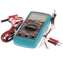 Мултиметър дигитален с автматичен избор на обхвата, 8831250, Extol PRE