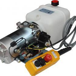 Хидравлични Помпи Хидромотори електродвигатели 12 и 24в. цилиндри