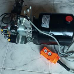 Електрическа хидравлична помпа за снегорин, лебедка 12 волта