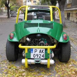 Volkswagen Beetle, 1970г., Бензинов, 2223 км