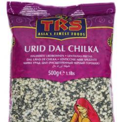 TRS Urid Dal Chilka ТРС Черна леща на половинки 500гр