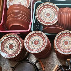 Глинени чинии, механджийски чинии, троянски глинени чинии, чинии