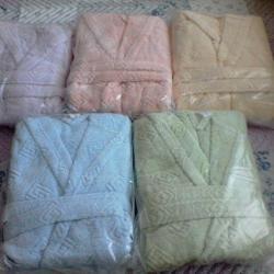 Халати и хавлии за баня - 100 памук