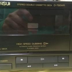 Sansui D-790wr Stereo Double Kassette Deck Бързооборотка