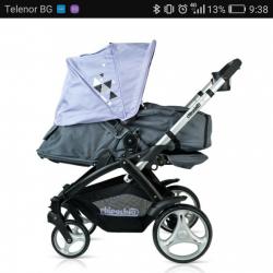 Намалена комбинирана детска количка