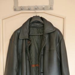 Мъжко кожено яке - шуба от естествена кожа