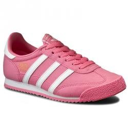 Ликвидация  Спортни обувки Adidas Dragon Розово Бяло