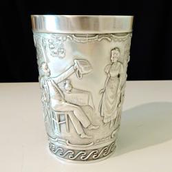 Чаша, халба от калай с картина No more kap in a cup.