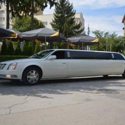 Лимузина под наем - Cadillac Dts, гр. Пловдив - 9м., 8-10 пасажери.