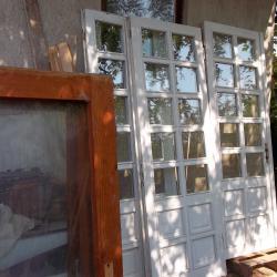 Дограма от масивна дървесина интериорно платно портал за врата и френс