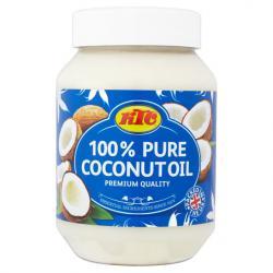 100%кокосово масло 500мл KTC Coconut Oil 500ml