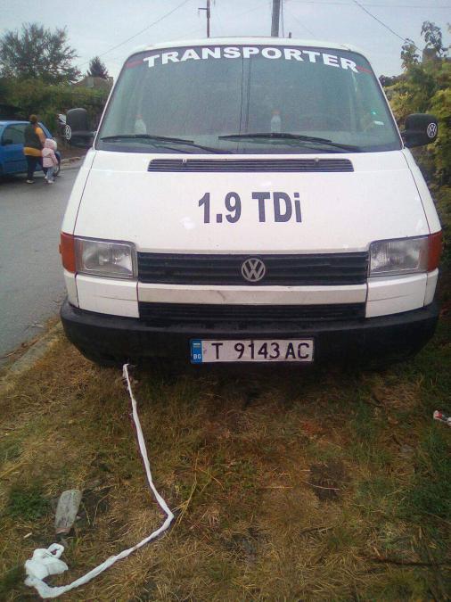 VW T4 1.9d 1994г на части
