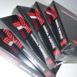 Видеокасета VHS Maxell 180 минути