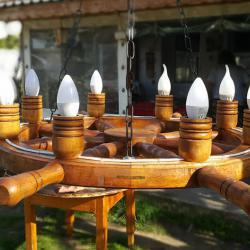Полилеи - рулове изработени от бук с дървени чашки