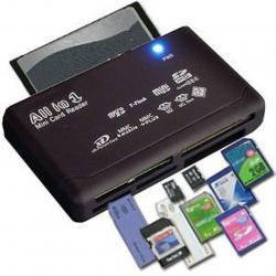 Четец на карти USB 2.0 Всичко в едно Поддръжка TF  CF  SD  Mini SD