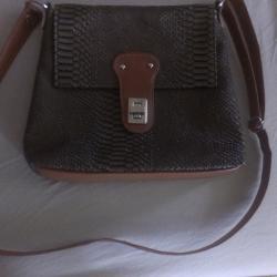 Нова чанта тип крокодилска кожа