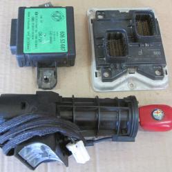 Компютър с контактен ключ имобилайзер Bosch 0261204947 Alfa romeo 156