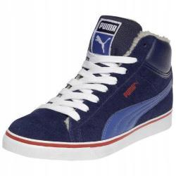 Високи спортни обувки Puma Mid Vulc Сини
