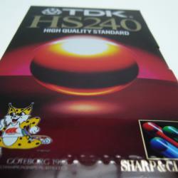Видеокасета TDK HS E-240 - Нова
