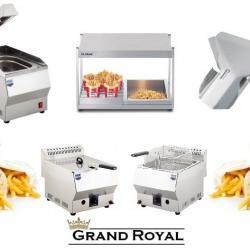Професионални фритюрници и подгреватели за картофи