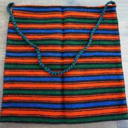 Вълнена ръчно тъкана автентична торба
