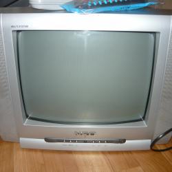 NEO -цветен телевизор и стойка