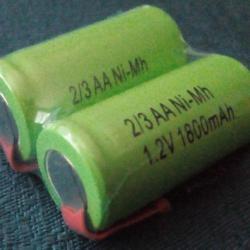 Акумулаторни батерии 2 3AA 1800mah