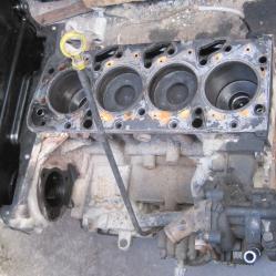 Двигател долна част колянов вал бутала Форд Транзит 2,0 01-06г Ford Tr