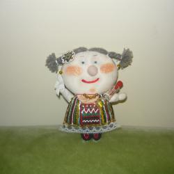 кукла с народна носия - нова