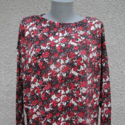 4XL нова цветна блуза от акрил