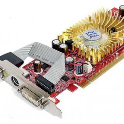 Нископрофилна видеокарта MSI Nvidia Geforce 7300, 256mb, Pcie