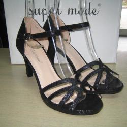Дамски сандали м. 7970 черни