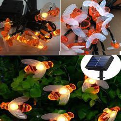 Соларни лампички пчелички