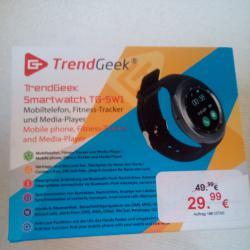 Смарт часовник и GSM Trendgeek Tg-sw1 Smartwatch