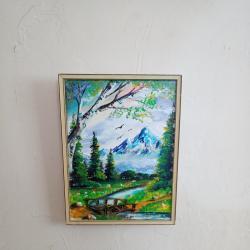 Картина платно рисувана