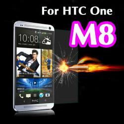 Закалено стъкло и силиконов протектор  гръб  за HTC new One M8