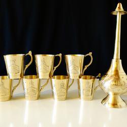 Бронзови чаши, оливерник Тадж Махал.
