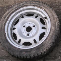 Резервна гума с джанта 175 55r15 за Ситроен АХ Citroen AX
