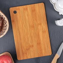 2323 Кухненска дъска за рязане, Мдф, 30х19,5 см