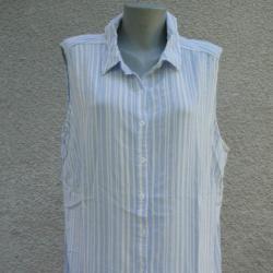 3XL 4XL Риза Alexia без ръкави