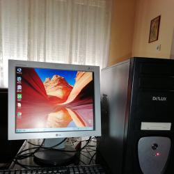 Комплект Компютър, монитор, клавиатура и мишка, тонколони.