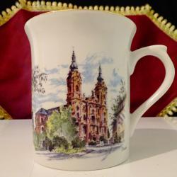 Порцеланова чаша Бохемия, базилика