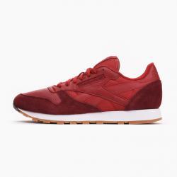 Намалени  Мъжки спортни обувки Reebok CL Leather Червено